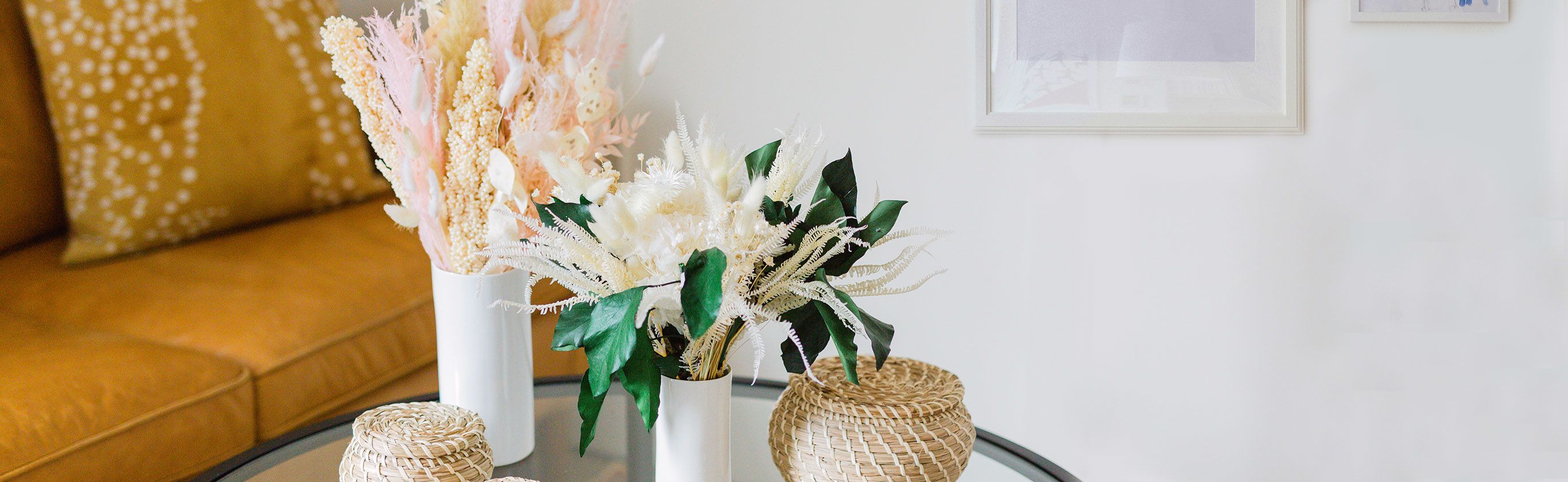 dried pampas flowers bouquets delivery