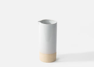 Add On Item: White Artisan Vase