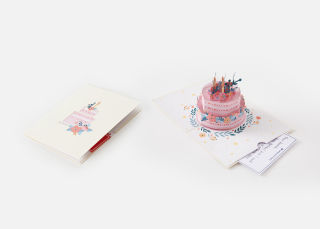 Add On Item: The Floral Birthday Card