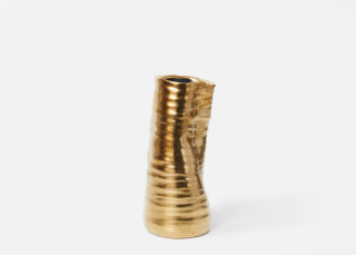 Add On Item: Gold Tegan Vase