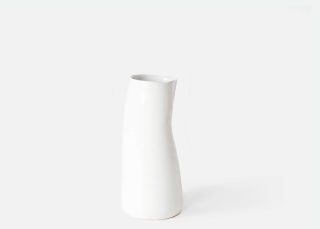 Add On Item: White Tegan Vase