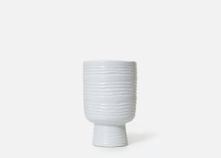 Add On Item: White Monaco Vase